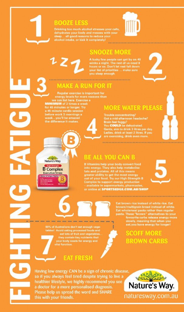 Ways to Decrease Fatigue