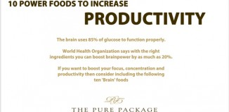 10 Foods that Increase Productivity