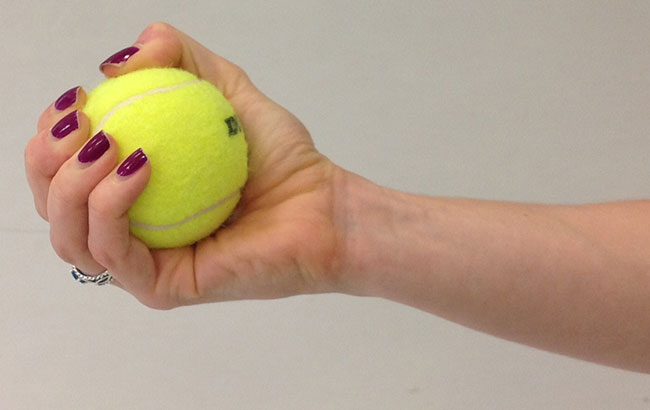 squeeze-tennis-ball-better-blood-flow