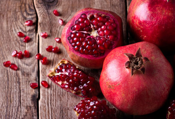Don't drink pomegranate juice because of the spike in blood sugar ...