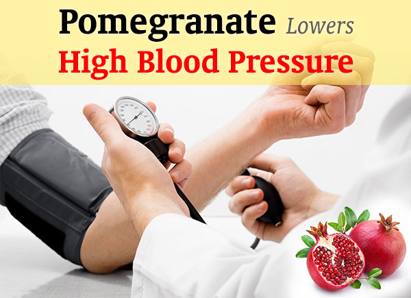 Pomegranate Extract Lowers Your Blood Pressure Naturally