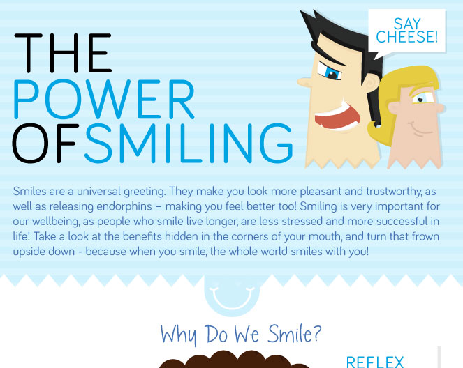 benefits of smiling quotes