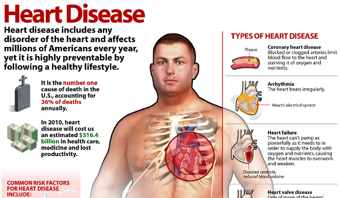 The 8 Types of Heart Disease