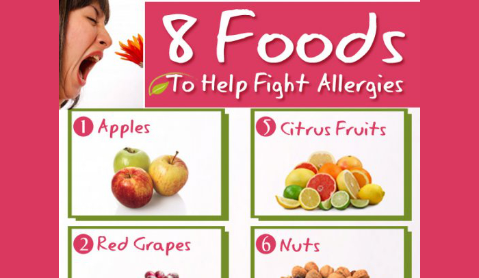 8 Allergy Suppressing Foods