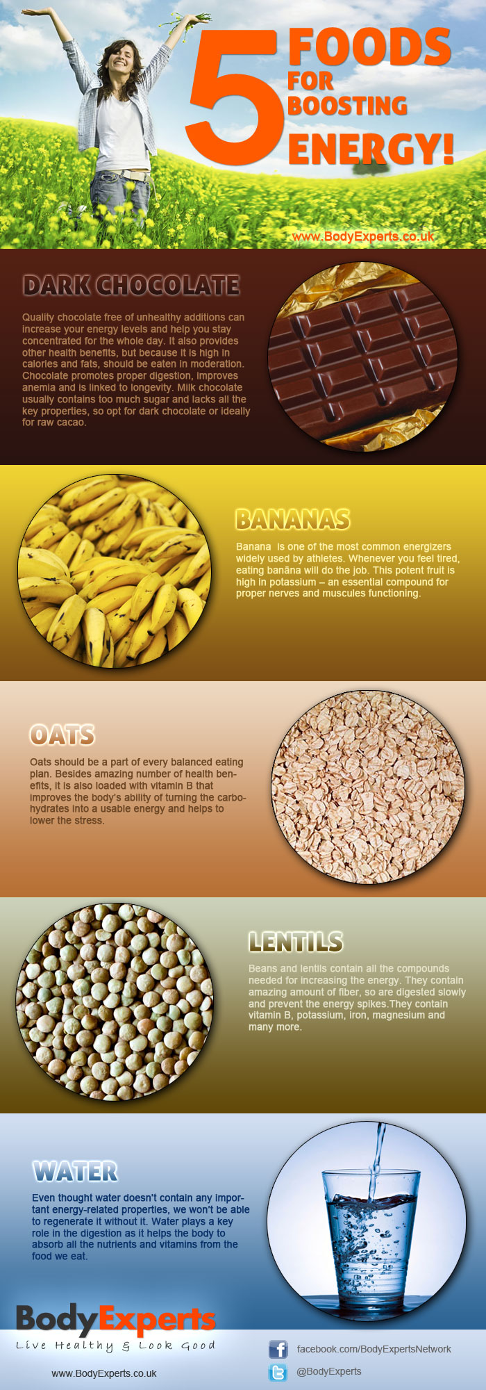 Foods for Boosting Energy