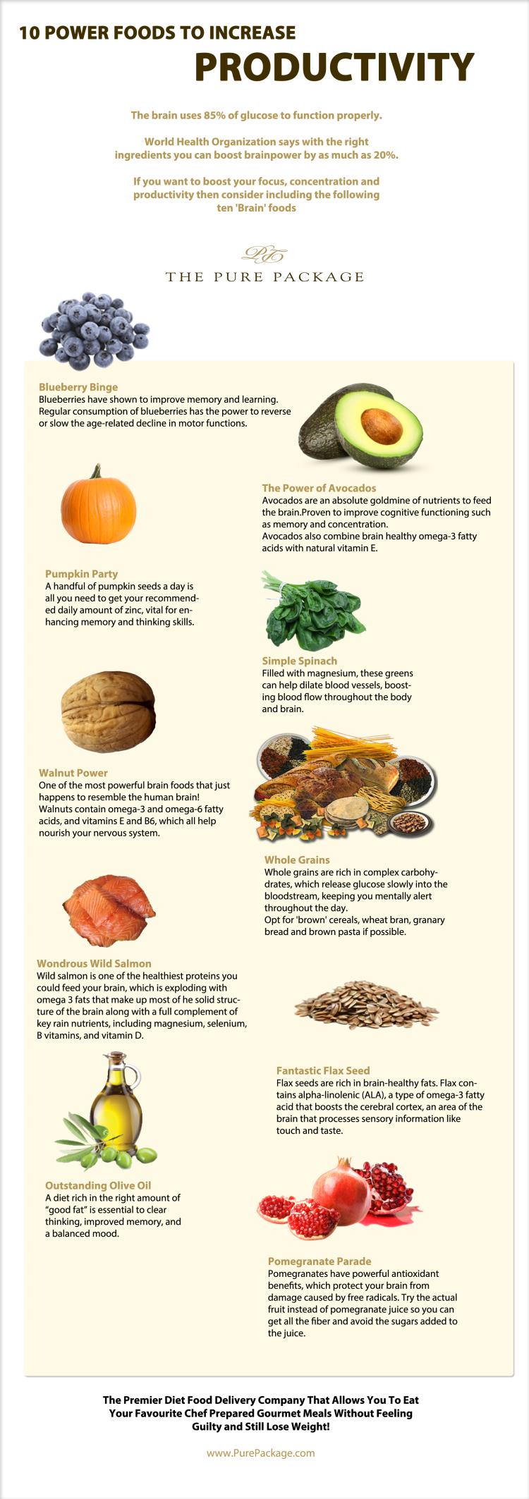 Power Foods That Increase Productivity