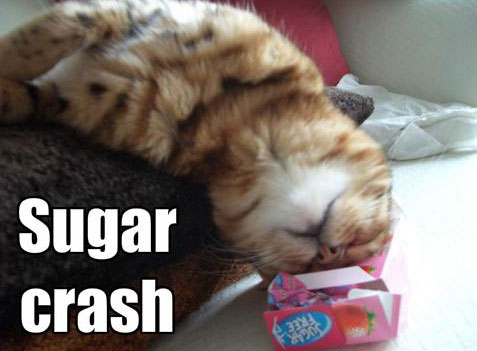 sugar crash