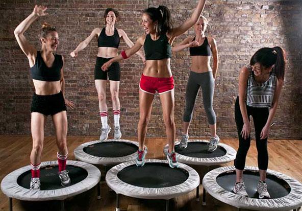 Rebounder-Exercise