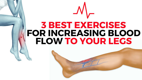 Slow Blood Flow, Sluggish Circulation in the Legs (Diagram ...