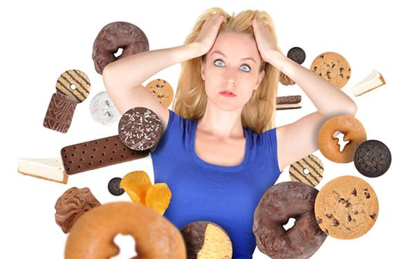STRESS causing to craving sugar