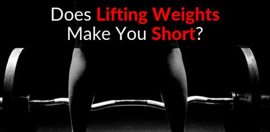 Does Lifting Weights Make You Short?