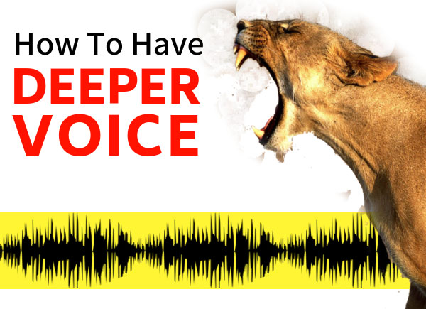 How To Have A Deeper Voice, Permanently & Naturally | Dr