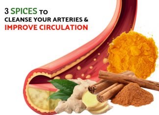 3 Spices Proven To Cleanse Your Arteries & Improve Circulation