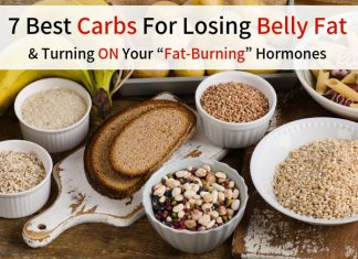 """7 Best Carbs For Losing Belly Fat & Turning ON Your """"Fat-Burning"""" Hormones"""