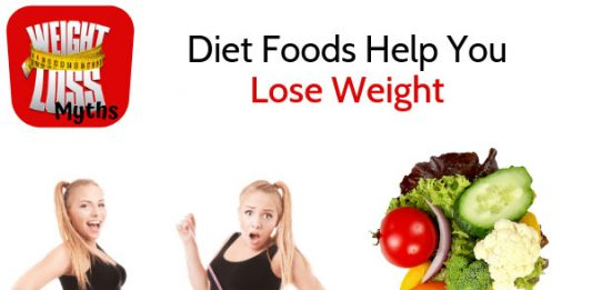 Diet Foods Help You Lose Weight