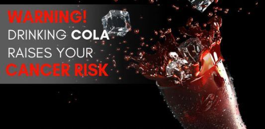 WARNING: Drinking cola raises your cancer risk because of caramel coloring