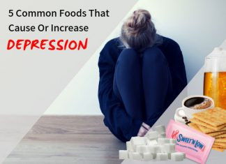 5 Common Foods That Cause Or Increase Depression