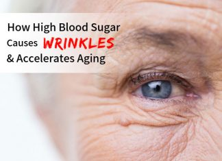 How High Blood Sugar Causes Wrinkles & Accelerates Aging