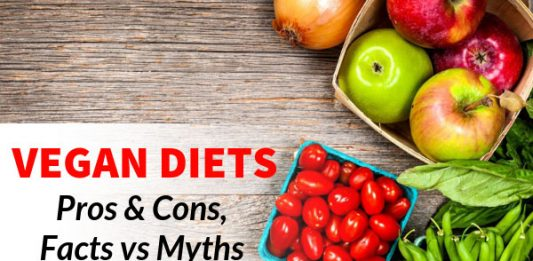 Vegan Diets - Pros & Cons, Facts vs Myths