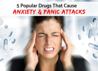 5 Popular Drugs That Cause Anxiety, Nervousness & Panic Attacks