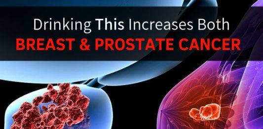 Drinking This Increases Both Breast & Prostate Cancer