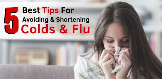 5 Best Tips For Avoiding & Shortening Colds & Flu