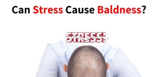 Can Stress Cause Baldness