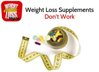 10 Weight Loss Myths - #6: supplements don't work