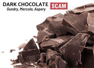 Dark Chocolate Scam - Gundry, Mercola, Aspery, etc.