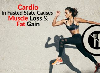 WARNING: Doing Cardio In Fasted State Causes Muscle Loss & Fat Gain