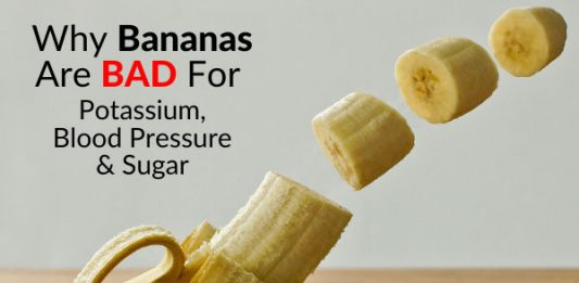 Why Bananas Are BAD For Potassium, Blood Pressure & Sugar