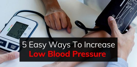 5 Easy Ways To Increase Low Blood Pressure (Hypotension)