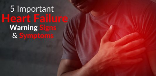 5 Important Heart Failure Warning Signs & Symptoms