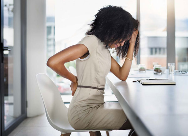sitting back pain