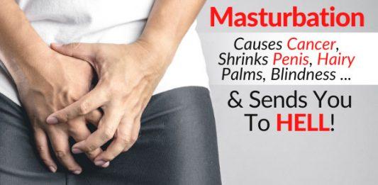 Masturbation Causes Cancer, Shrinks Penis, Hairy Palms, Blindness FB