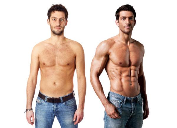 skinny-fat muscular