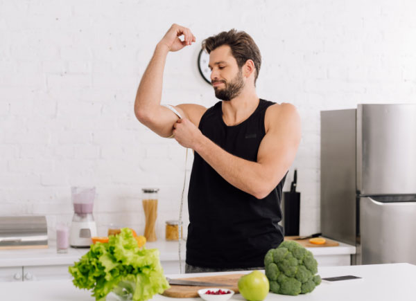 food to build muscle and lose fat