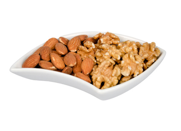 almonds walnuts