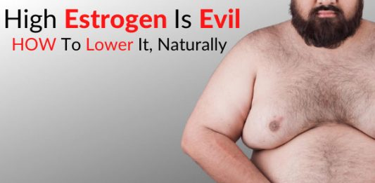 High Estrogen Is Evil - HOW To Lower It, Naturally