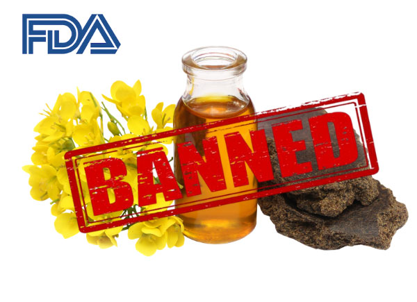 fda banned mustard oil