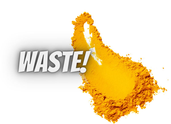 turmeric is a waste