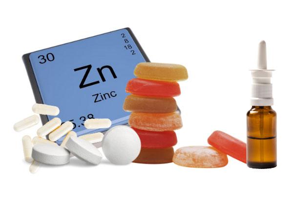 zinc supplement forms