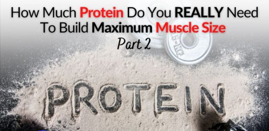 How Much Protein Do You REALLY Need To Build Maximum Muscle Size - Part 2 FB
