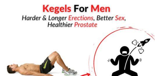 Kegels For Men = Harder & Longer Erection, Better Sex, Healthier Prostate