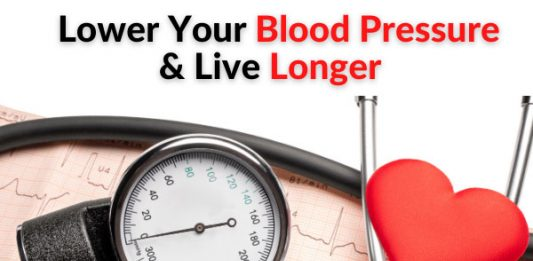 Lower Your Blood Pressure & Live Longer