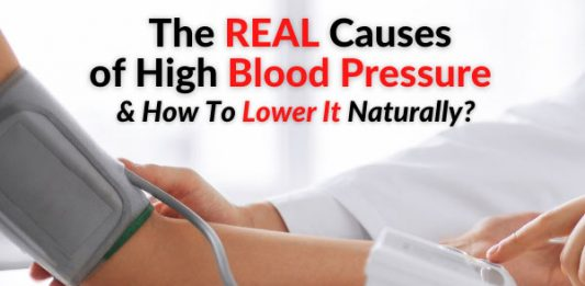 The REAL Causes of High Blood Pressure & How To Lower It Naturally?