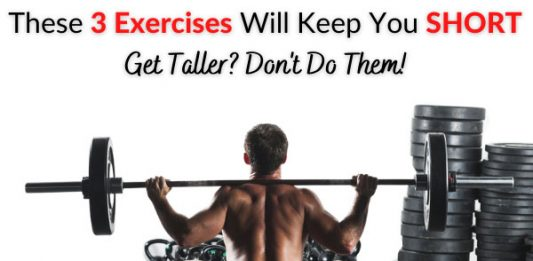 These 3 Exercises Will Keep You SHORT - Get Taller? Don't Do Them!