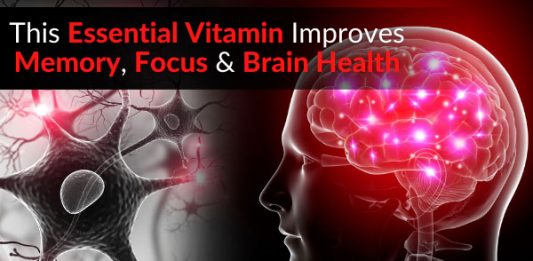 This Essential Vitamin Improves Memory, Focus & Brain Health