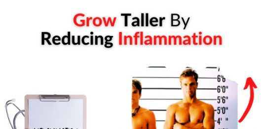 Grow Taller By Reducing Inflammation