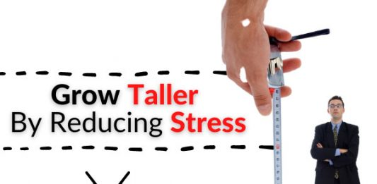 Grow Taller By Reducing Stress